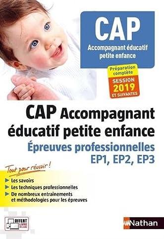 Épreuves professionnelles CAP Accompagnant Educatif Petite