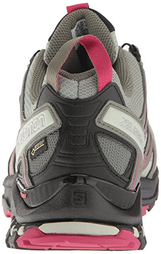 Salomon Xa Pro 3d Gtx W, Chaussures de Trail Femme Multicolore (Shadow/black/sangria)