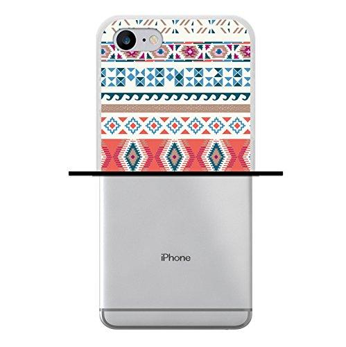 WoowCase Hülle Case für [ iPhone 7 ] Handy Cover Schutzhülle Gehirn, Musik und Wissenschaft Housse Gel iPhone 7 Transparent D0325