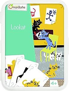 Decopatch-CO104O-Avenue Mandarine-Juegos de Cartas Lookat
