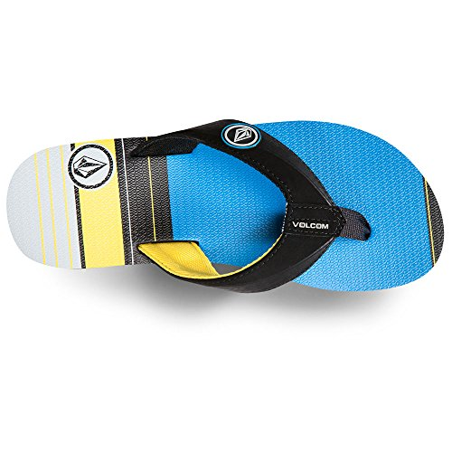 Volcom  Vocation Sndl, Tongs pour homme Blue combo