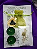 Complete Spell Kit ~ ATTRACT WEALTH ~ Potent Yet Simple Bath or Shower Ritual Hand Crafted By Celtic Witch