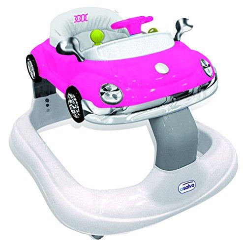Asalvo Bugatti - Andador, color rosa