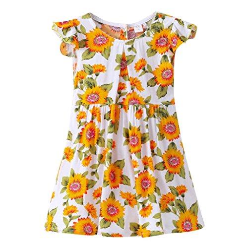 Jungen Kleidung ZuverläSsig Baby Jungen Casual Sonnenblumen Hemd Sommer 2019 Tiny Baumwolle Kleinkind Kid Kurzarm Bluse Strand Kinder Kleidung 2 3 4 5 6 Jahre