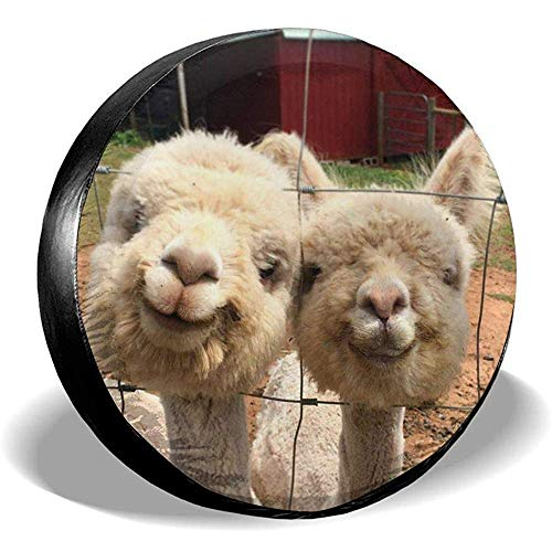 Hiram Cotton Spare Tire Cover Baby Alpaca E Llama Copriruota per Pneumatici Fuoristrada Extreme Speed   Overdrive Univers