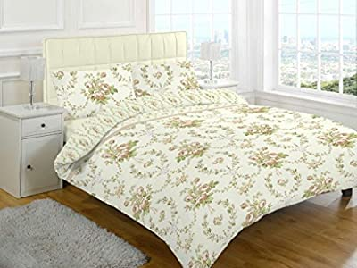 Duvet cover set printed flannelette new bedding - cheap UK light shop.