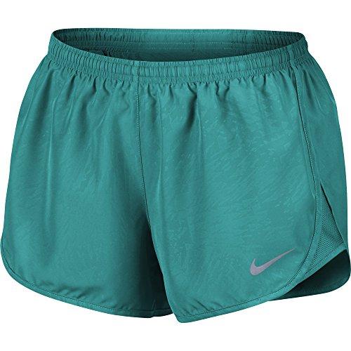 Nike Dry Tempo Damen-Laufshorts (L, Turbo Green)