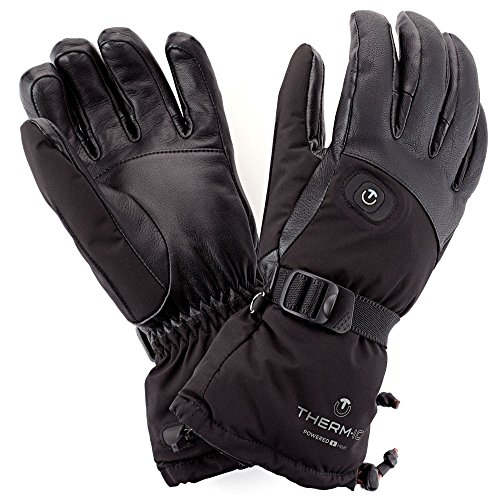Therm-ic Damen Pow Gloves Lady Heizhandschuhe, schwarz, -