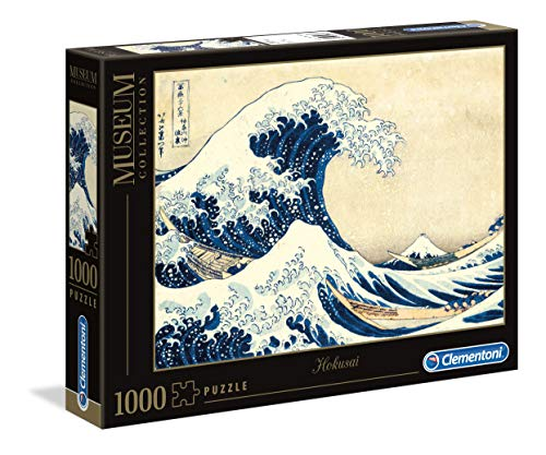 Clementoni - 39378 - Museum Collection Puzzle - Hokusai, The Great Wave...