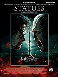 Statues: From Harry Potter and the Deathly Hallows, Part 2: Big Note Piano, Sheet