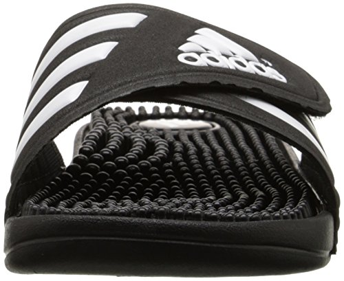 schwarz W Adidas wei Adissage Performance Adidas Sandale Sportlich Performance schwarz n7nqT06WI
