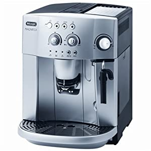 Delonghi ESAM4200S Magnifica Espresso / Cappuccino Maker 1.2 Kw 15 Bar Pressure 1.8 Litre water tank capacity Removable brewing unit Can be used with ground coffee and coffee beans - Silver