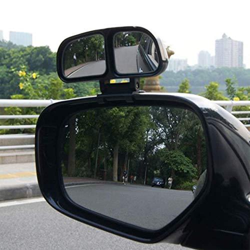 iegel Dual Glas Parkplatz Auto Rückspiegel verstellbar Durable Weitwinkel Sicherheit Rückwärtsgang Außenseite Flügel Zubehör Klar Universal ()