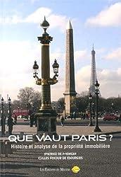 Que Vaut Paris ?