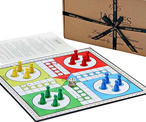 Jaques of London Ludo Board Game Set