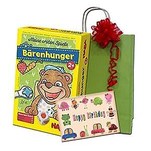 Geburtstagsgeschenk für Kinder ab 3 - Meine ersten Spiele - Bärenhunger von Haba
