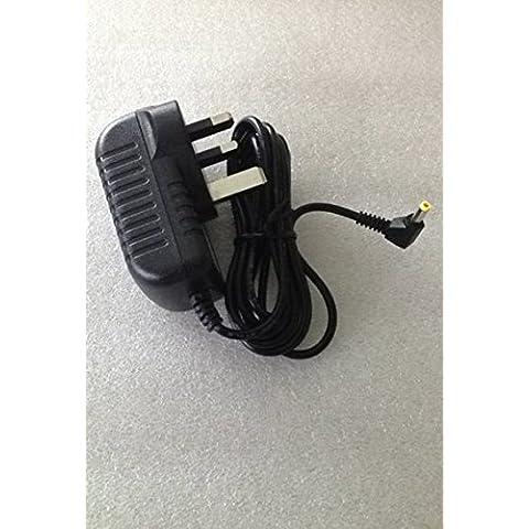 Volans cavo lungo 2metri spina UK AC-DC Adattatore Caricabatteria per Polaroid PDM-0742PDM0742Lettore DVD portatile 12V 2A.