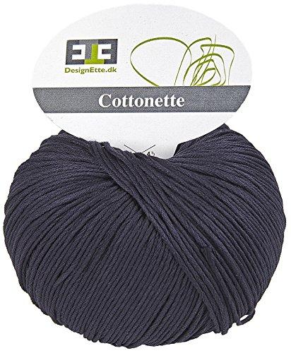 CottonetteYarn 100 Designette Cotton GGraphite BallPure Egyptian Mercerized 5jL4R3A
