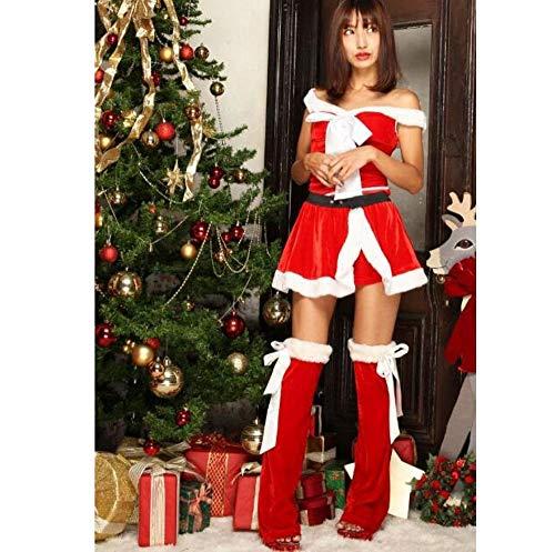 Olydmsky Santa Kostüm Weihnachten Kleidung, die Adult Christmas Set