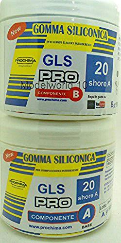 PROCHIMA GLS-PRO 20 SHORE A GOMMA SILICONICA PER COLATA 1KG