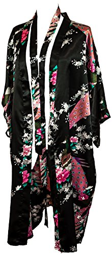 "CC Collections Kimono 16 colours ""premium version"" free 1st class UK shipping dressing gown robe lingerie night wear dress bridesmaid hen night Test"