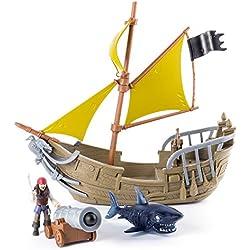 Piratas del Caribe - El barco pirata de Jack Sparrow.