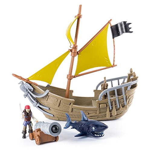 Piratas del Caribe Fluch der Karibik-Playset Jack Sparrow (Bizak 61923112) (Der Fluch Karibik-kanone)