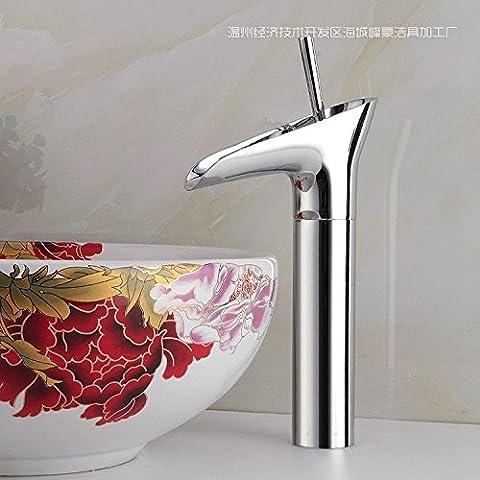 Hopo quadrati in acciaio inox primavera lavabo rubinetto centerset singola maniglia in ottone antico rubinetto miscelatore