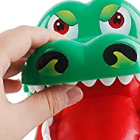 xihuanjia Biting hand crocodile toy biting finger parenting toy child whole bite hand crocodile green 22*14*10cm
