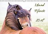 Islandpferde (Wandkalender 2018 DIN A4 quer): Islandpferde, Islandponys, Fohlen, Natur, Landschaft... dieser Kalender bietet eine breites Spektrum ... [Kalender] [Apr 01, 2017] Gimpel, Frauke