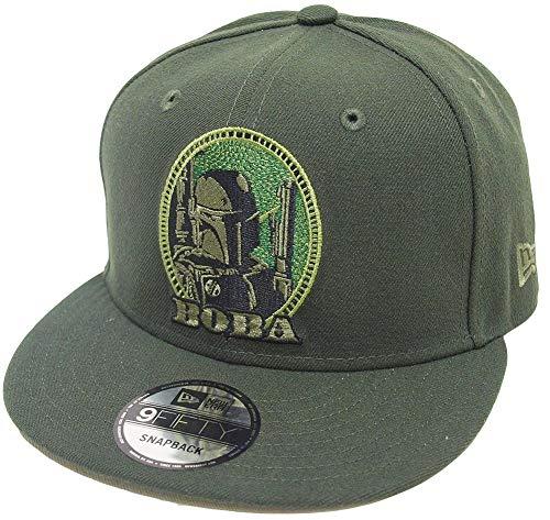 New Era Star Wars Boba Fett Dark Seaweed Snapback Cap 9fifty 950 OSFA Basecap Limited Edition