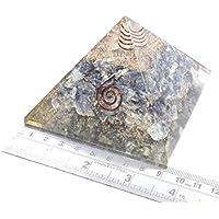 Pyramid Iolite 3-3.5 inch Orgonite Gemstone Chakra Balancing Reiki Healing + 1 Green Aventurine Pointer Pendant preisvergleich bei billige-tabletten.eu