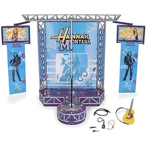 Hannah Montana Stage Set Comes with Hannah Montana Doll, Fashions, and Stage Connects to Your Mp3 Player by Disney