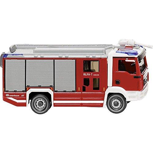 MAN TGM Rosenbauer AT RLFA-T, pompiers, voiture miniATure, MiniATure déjà montée, Wiking 061248 (1:87)