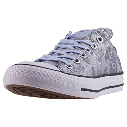 Converse Damen Chuck Taylor CTAS Ox Cotton Fitnessschuhe Blau Chill/Ashley Blue 457, 37/38 EU (Converse Camo Frauen)