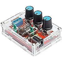 Arichtop High Precision Funktion Signal Generator DIY Kit Sinus-Platz Ausgang 1 Hz-1 MHz Einstellbare Frequenz Amplitude
