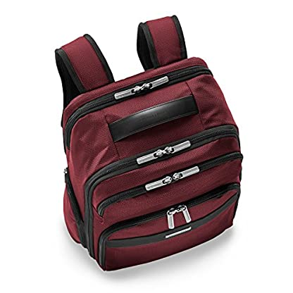 """51OhPqIrDZL. SS416  - Briggs & Riley Transcend Cargo Backpack, 17"""", 24.5 litres, Slate Mochila tipo casual, 46 cm, liters, Gris (Slate)"""