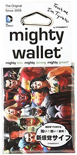 Dynomighty - Mighty Wallet - Geldbörse aus Tyvek Justice League (Design Dynomighty)