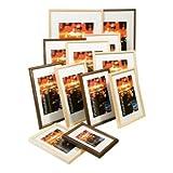 Kenro fr1318bw schwarz Display Stand-Bilderrahmen Hintergrundbeleuchtung (schwarz, Präsentationsständer Fuß Hintergrundbeleuchtung, 13x 18cm)