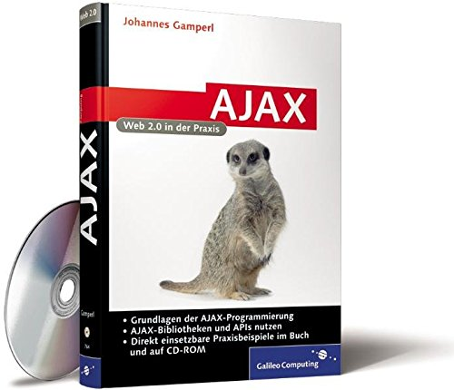 AJAX : Web 2.0 in der Praxis, mit CD-ROM Buch-Cover