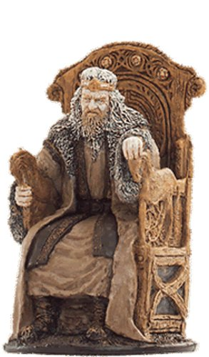 Lord of the Rings Señor de los Anillos Figurine Collection Nº 43 King Theoden 1
