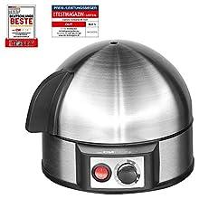 Clatronic 263 118 EK 3321 Bollitore per 7 uova in acciaio INOX, 400 W