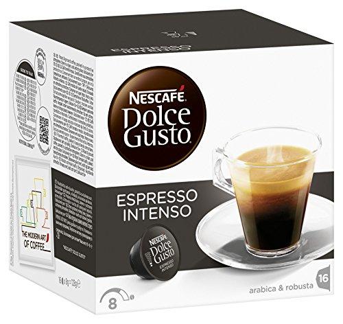 Nescafé Dolce Gusto Kaffeekapseln, Espresso Intenso, 48 Kapseln für 48 Getränke