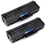 Aoioi Compatible MLT-D101S/ELS, D101S, 101S Cartouche de toner Compatible pour Laser Samsung ML-2160/ML-2165/SCX-3400/SCX-3405 Imprimante, 1500 pages Noir