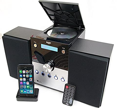 BUSH HiFi Micro System with Bluetooth, FM Radio, CD Player