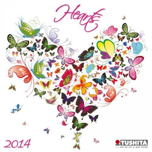 Hearts 2014 (Mini Calendars) por From Tushita Verlags GmbH