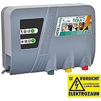 """Voss.farming Elettrificatore per recinzioni da pascolo TESLA 7"""" 230V"""
