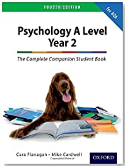The Complete Companion for AQA Psychology A Level: Year 2 Fourth Edition Student Book (PSYCHOLOGY COMPLETE COMPANION)