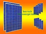 8 Stück 250 Watt Solarmodul Solarpanel Photovoltaik Solarzelle NEU