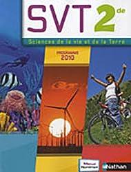 Sciences de la Vie et de la Terre 2e : Programme 2010